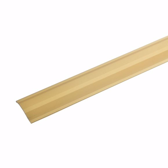 Picture of Aluminium height adjustment profile 135cm gold 2-16mm self-adhesive