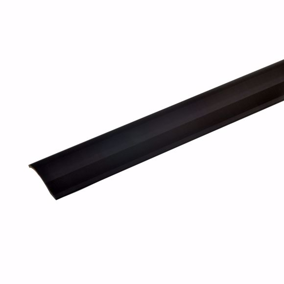 Foto de Perfil de compensación de altura de aluminio 135cm bronce oscuro 2-16mm autoadhesivo