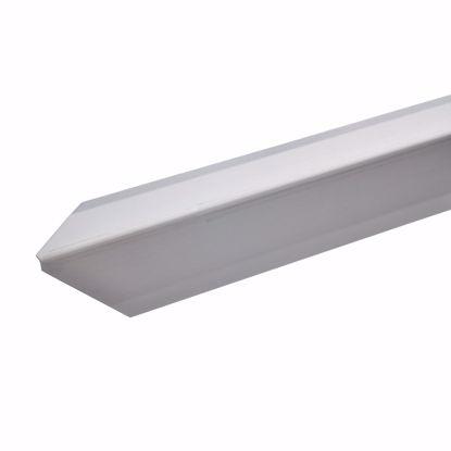 Afbeeldingen van Hoekbeschermingsprofiel roestvrij staal 125cm / 20 x 20 mm * Zelfklevend