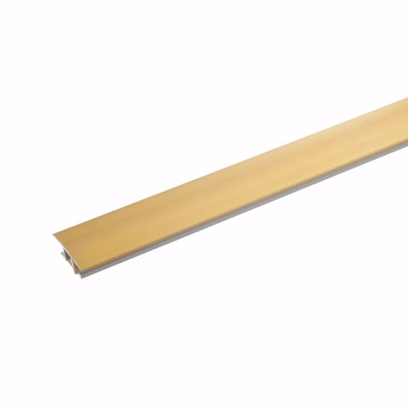 Picture of Transition profile aluminium 2-part - 135cm 7-10mm (gold)