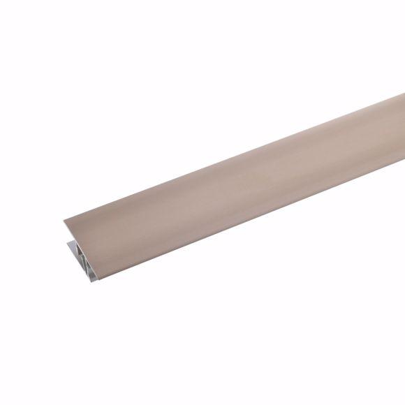 Picture of Transition profile aluminium 2-part - 135cm 7-10mm (bronze light)