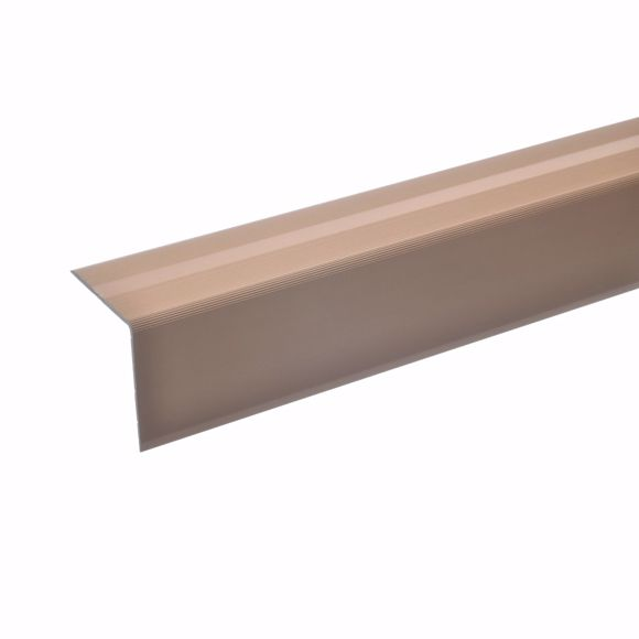 Picture of 42x40mm stair angle 100cm self-adhesive bronze light