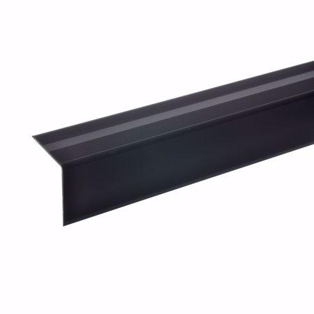 Image sur 42x40mm Angle d'escalier 100cm autocollant bronze foncé