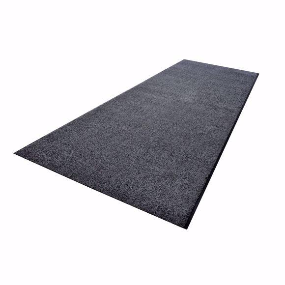Image sur ZANZIBAR Cache-poussière gris mat matériau en rouleau de 90 cm