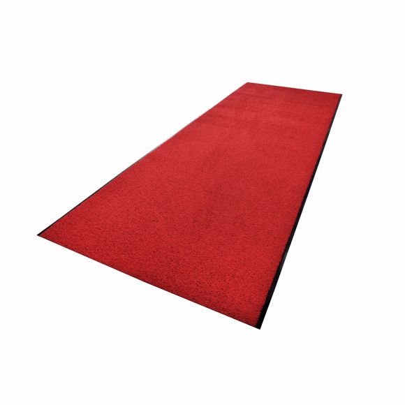 Picture of ZANZIBAR dirt-trapping mat red 90 x 300 cm in rolls