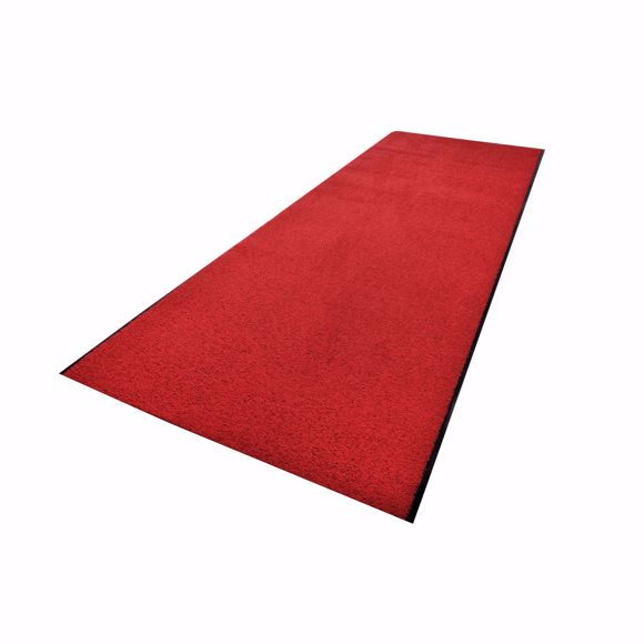 Picture of ZANZIBAR dirt-trapping mat red 90 x 600 cm in rolls