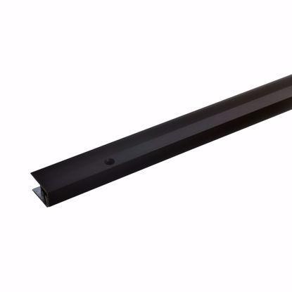 Bild von Wandabschlussprofil 270cm bronze-dunkel 21 x 7-15mm gebohrt
