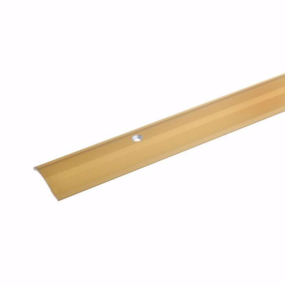 Bild von Alu Höhenausgleichsprofil Übergangsschiene 270cm gold 2-16mm
