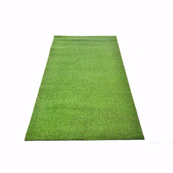 Bild von Awon Realistischer Kunststoff-Rasen grün 1x2m