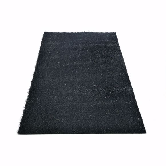 Picture of Chroma artificial grass for outside black pile height approx. 25 mm 2x3m