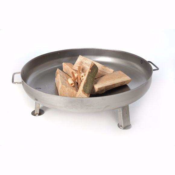 Picture of Solid fire bowl 55cm + 5 pcs. Beech firewood