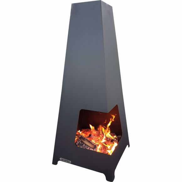 Picture of FEWUR garden oven terrace oven for the garden 50x50x115 cm