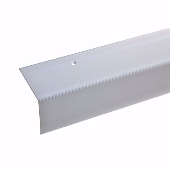 Picture of 55x69mm stair angle 170cm long silver drilled