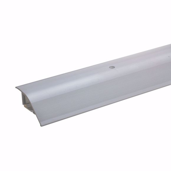 Picture of Aluminum height adjustment profile 270cm silver 12-22mm transition strip Adjustment profile