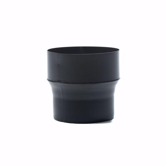 Picture of Ofenrohr Reduzierung 160mm > 130mm senotherm schwarz 16mm