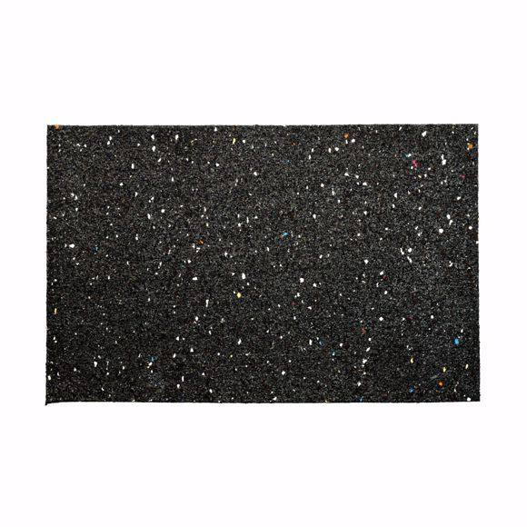 Picture of Antivibration protective mat - rubber granulate - 60x 40x 1,5 cm
