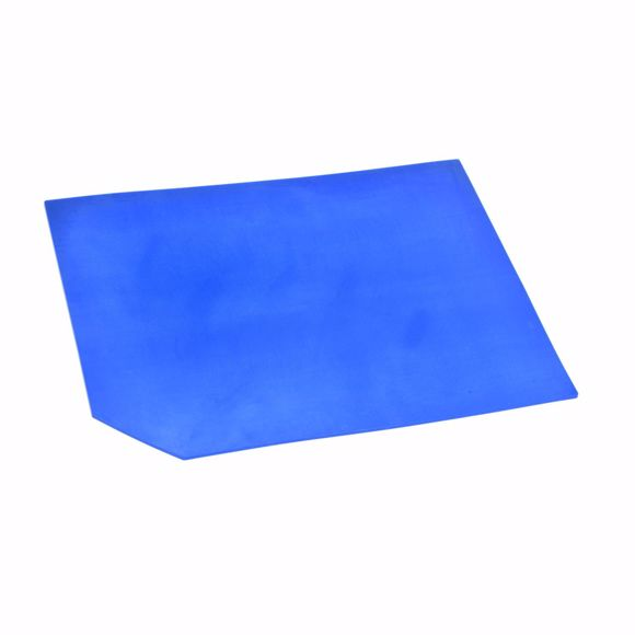 Picture of Silicone underlay VMQ blue self-adhesive 30x40cm 5mm, food approval