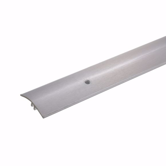 Picture of Height compensation Transition profile Door threshold Stainless steel 7-17 mm 3-piece 270 cm