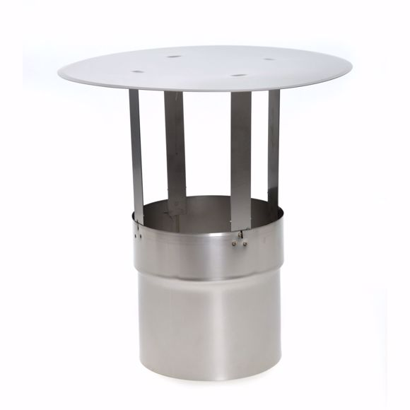 Picture of Stainless steel chimney cover 100mm * Weather resistant