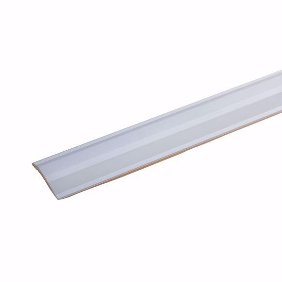 Image sur Profil de compensation de hauteur en aluminium 170cm argent 2-16mm auto-adhésif