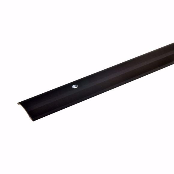 Bild von Alu Höhenausgleichsprofil Übergangsschiene 170cm bronze dunkel 2-16mm