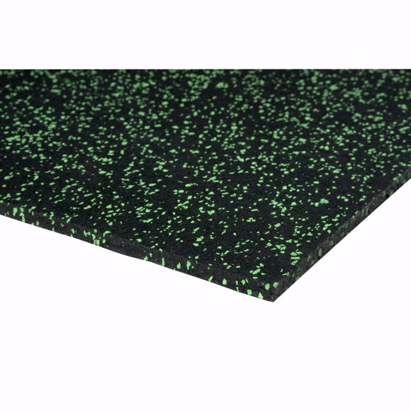 Image sur Bodenschutzmatte Fitnessmatte Unterlage Fitnessgeräte 450x125x0,4 cm grün