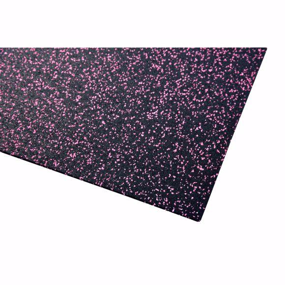 Image sur Bodenschutzmatte Fitnessmatte Unterlage Fitnessgeräte 450x125x0,4 cm pink