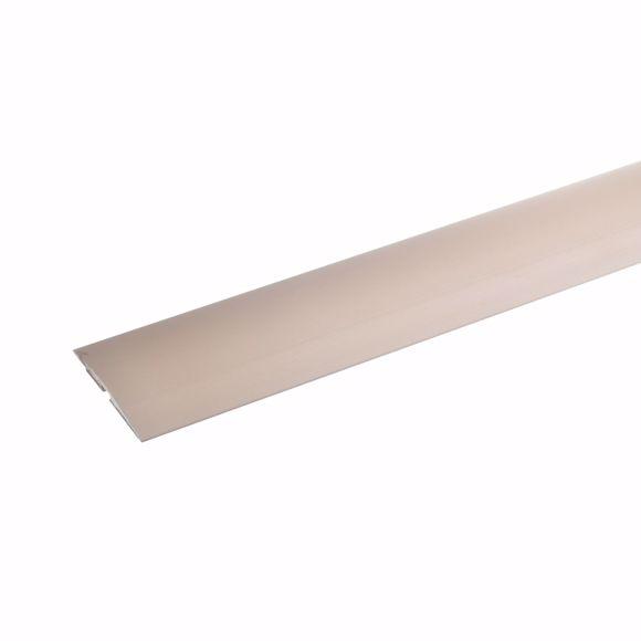 Image sur Übergangsprofil Alu selbstklebend Teppichschiene 135 cm bronze hell 4x50mm