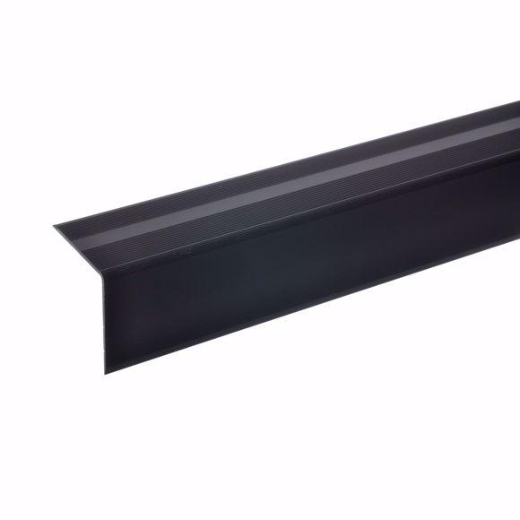 Bild von 42x40mm Treppenwinkel 170cm selbstklebend bronze dunkel