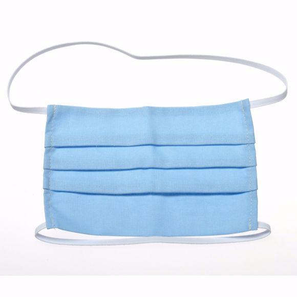 Image sur Waschbare Schutzmaske für Mund & Nase, 2-lagig - Mehrweg-Atemmaske aus Baumwoll-Stoff mit Gummiband,