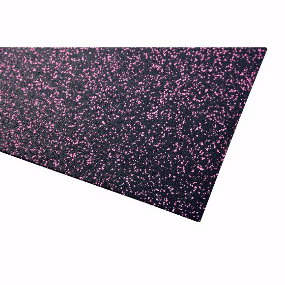 Picture of Bodenschutzmatte Fitnessmatte Unterlage Fitnessgeräte 800x125x0,4 cm pink