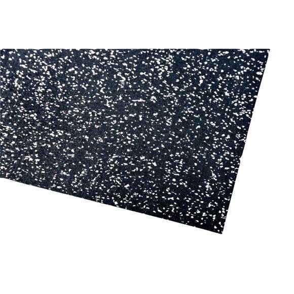 Image sur Bodenschutzmatte Fitnessmatte Unterlage Fitnessgeräte 400x125x0,8 cm grau