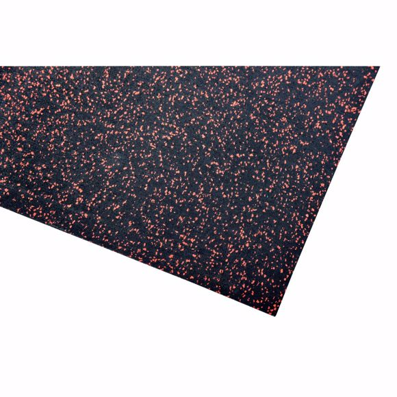 Image sur Bodenschutzmatte Fitnessmatte Unterlage Fitnessgeräte 800x125x0,4 cm rot