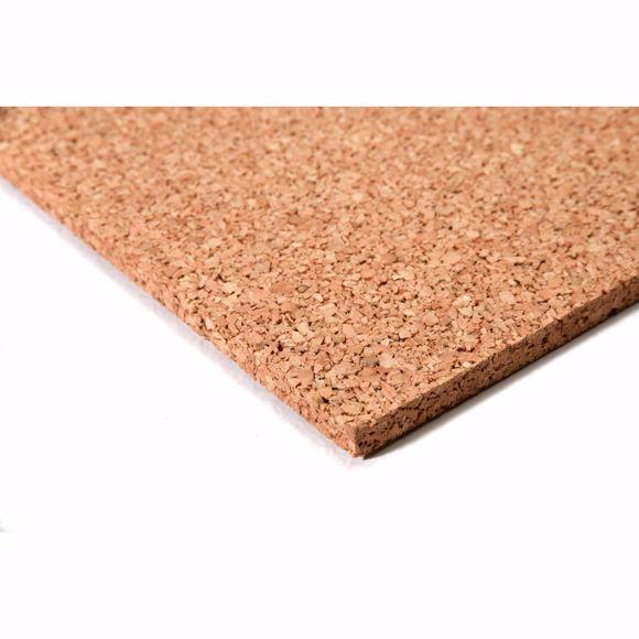 Image sur Pinnwand Korkenplatten Korkdämmung Wandkork Korkboard 50 x 100 cm - 15 mm