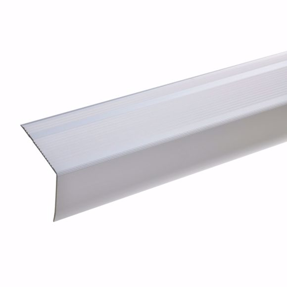 Image sur 55x69mm Treppenwinkel 270cm lang silber selbstklebend