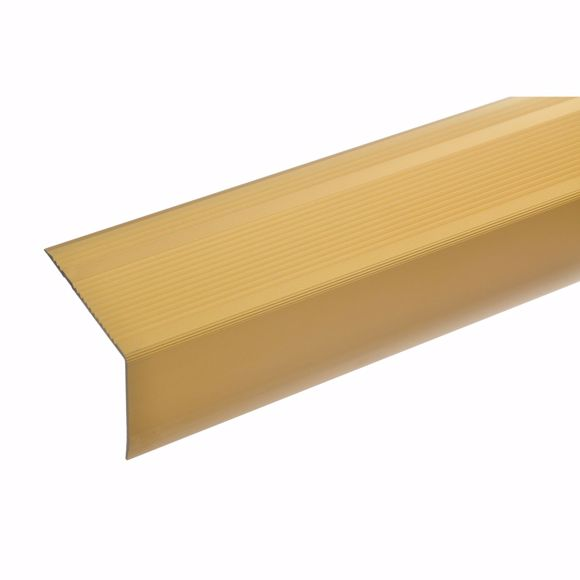Picture of 55x69mm Treppenwinkel 270cm lang gold selbstklebend