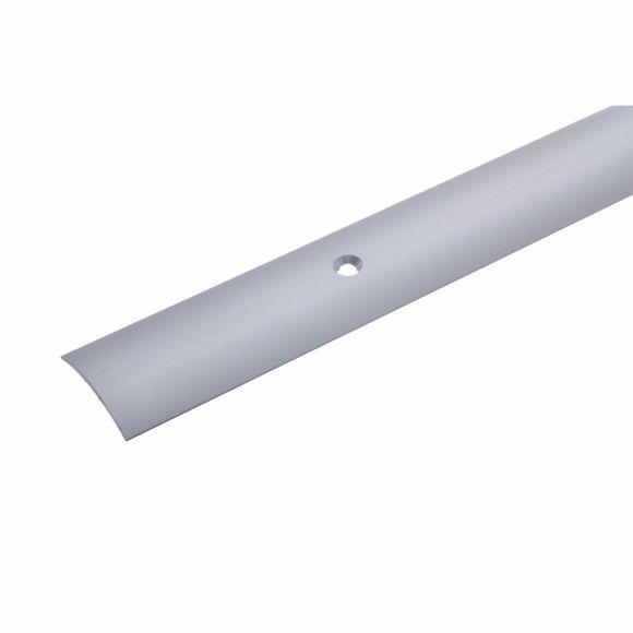 Picture of Übergangsprofil Silber 135 cm - 28mm breit Stärke 1,5 mm Teppichschiene Alu