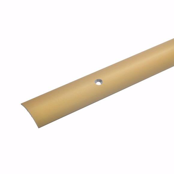 Image sur Übergangsprofil Teppichschiene Türschwelle Türschiene Gold 135 cm - 28 mm 1,5 mm