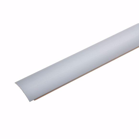 Picture of Übergangsprofil Silber 135 cm - 28mm breit Stärke Teppichschiene selbstklebend