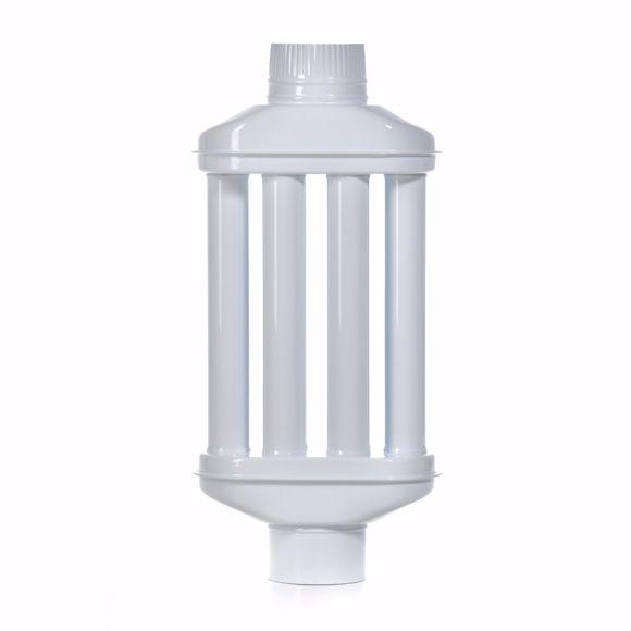Image sur Abgaswärmetauscher 120x650mm weiß Emaille Leichte Reinigung Einfacher Einbau