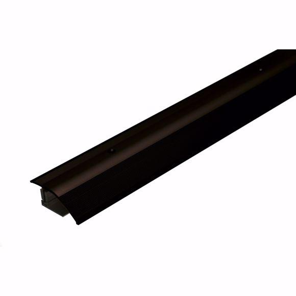 Bild von Alu Höhenausgleichsprofil 135cm bronze dunkel 12-22mm Übergangsleiste Türschiene