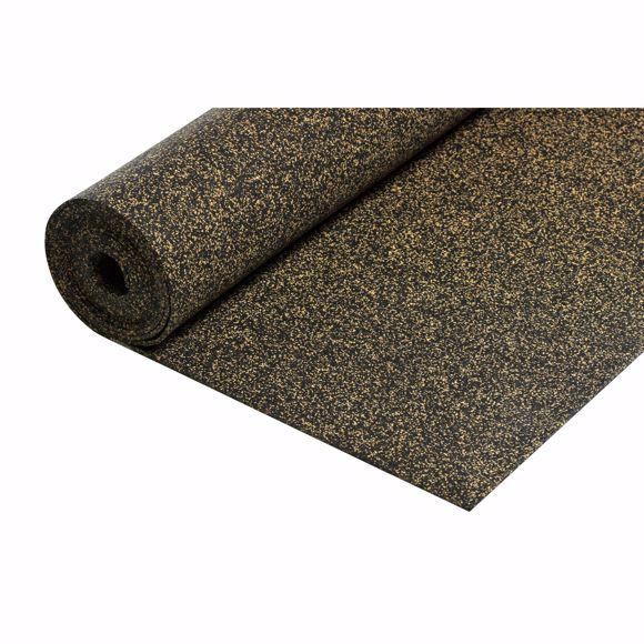 Picture of Gummi-Korkmatte Trittschalldämmung 5m² / 8mm Bodenunterlage Wärmedämmung