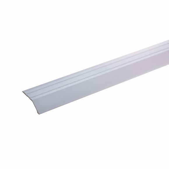Image sur Abschlußprofil 270cm silber 34 x 8mm selbstklebend Wandabschlussleiste Aluminium