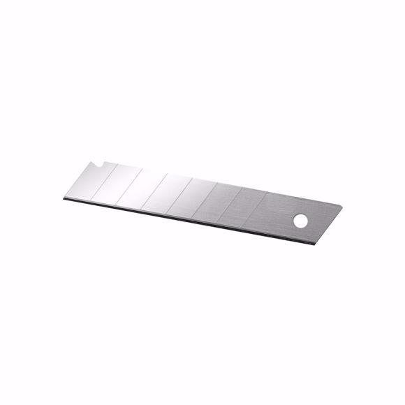 Picture of Delphin® 10 Stück Abbrechklingen 18 mm Abbrechmesser Cuttermesser Ersatzklingen